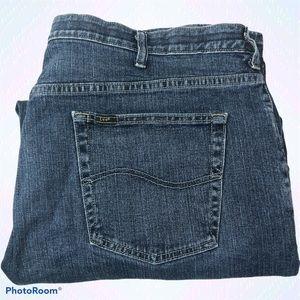 Lee Custom Fit Loose Straight Leg Jeans 2101318